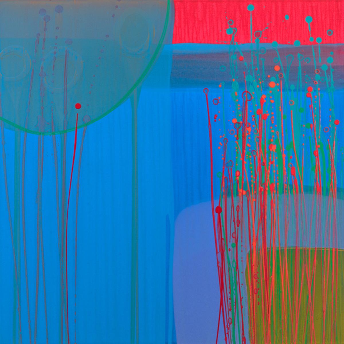 Charlotte Cornish Contemporary Artist Majorelle II