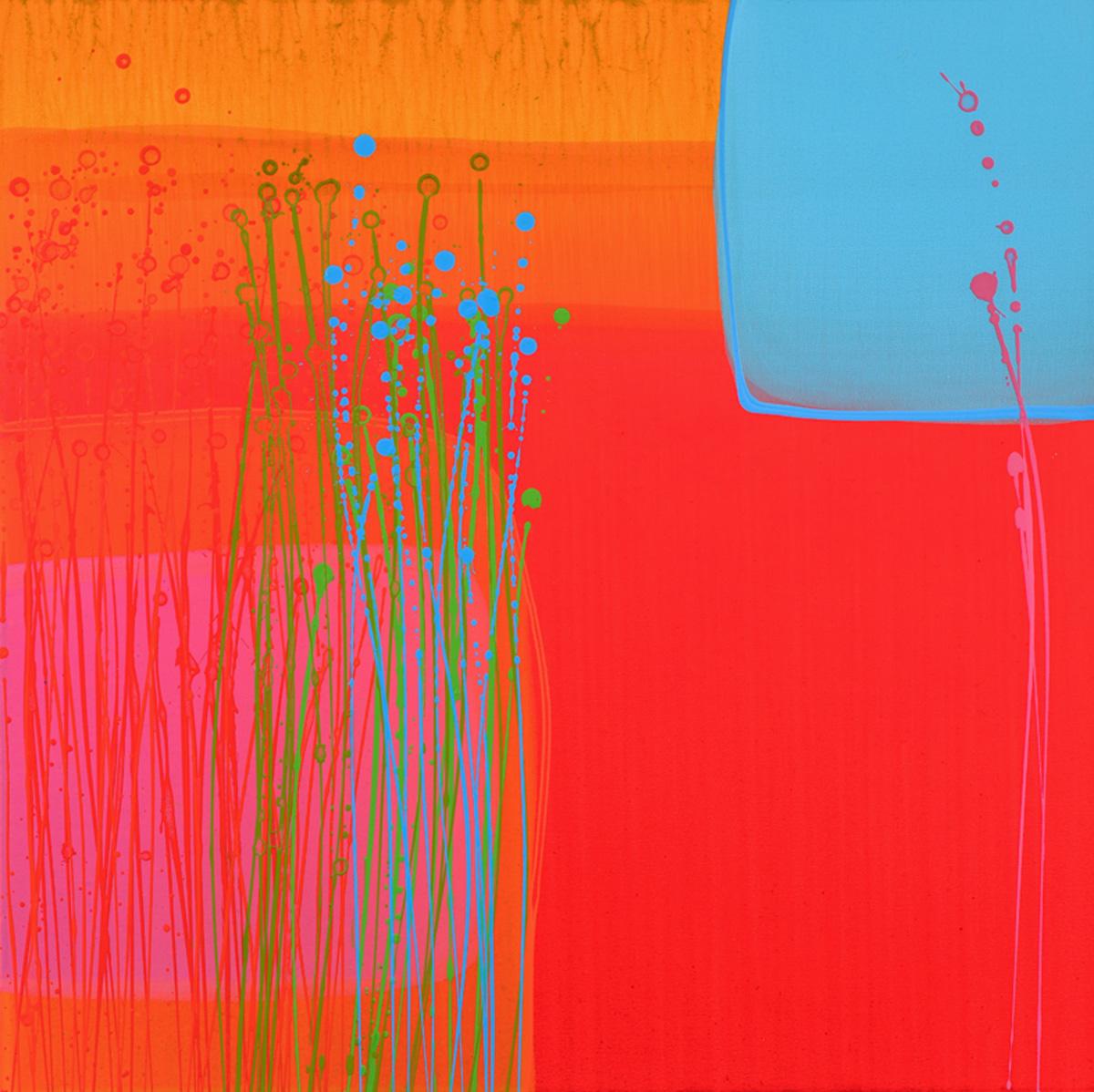 Charlotte Cornish Contemporary Artist Jardin I