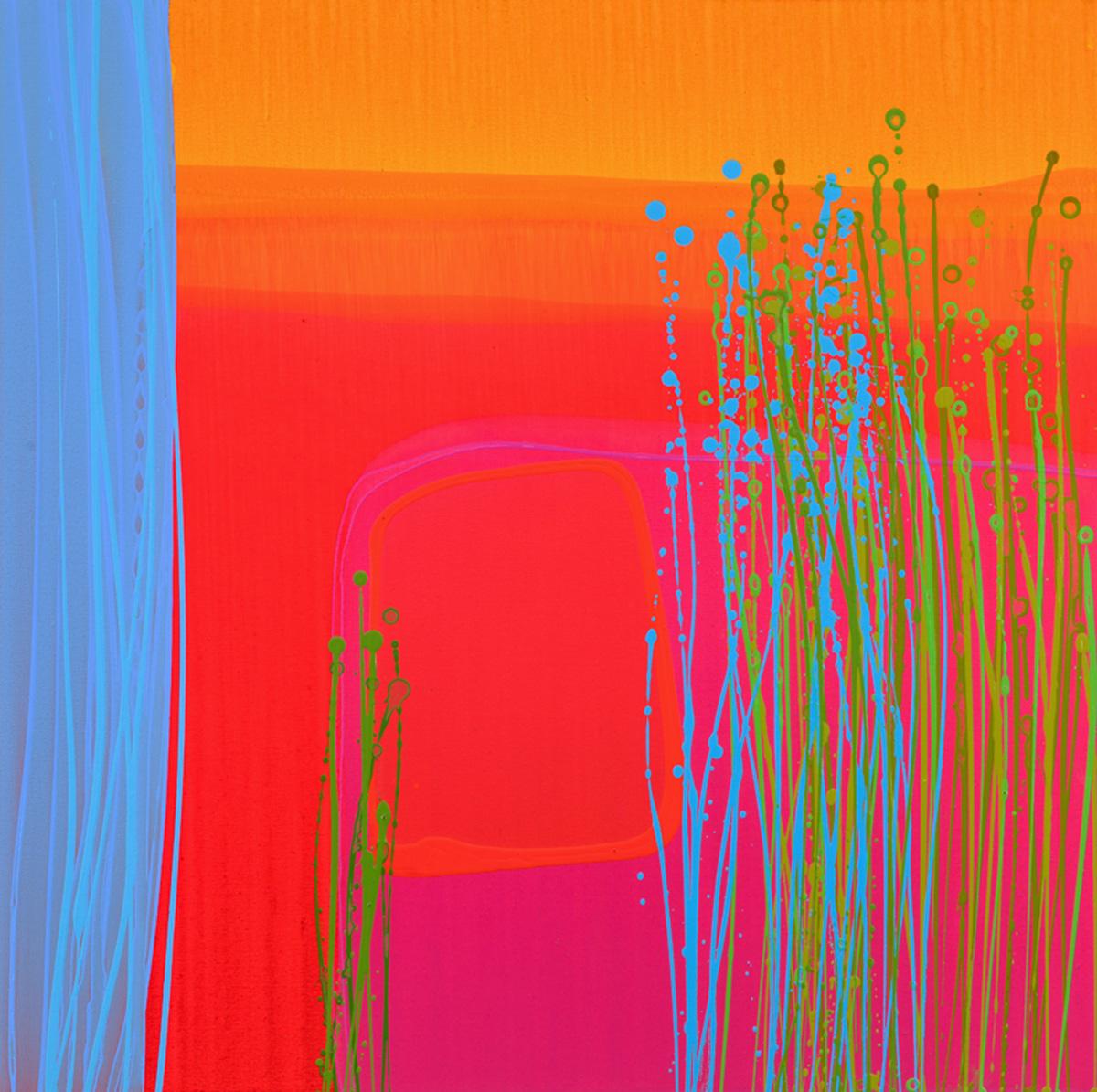 Charlotte Cornish Contemporary Artist Jardin II